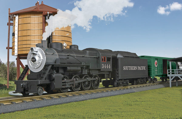 30-4245-1 - Southern Pacific 2-8-0 Steam Freight R-T-R Train Set w/Proto-Sound 3.0