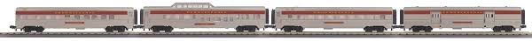 30-67855 - Pennsylvania 4-Car 60' Streamlined ABS Passenger Set