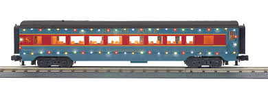 30-68138 - North Pole 60' Streamlined Coach Car w/LED Lights