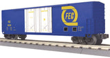 30-74916 - Florida East Coast 50' Double Door Plugged Boxcar