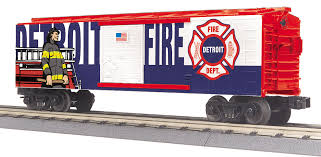 30-74995 - Detroit Fire Dept. Box Car