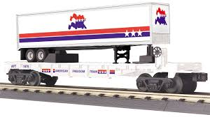 30-76782 - American Freedom Flat Car w/40' Trailer