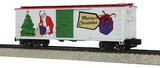 35-74001 Christmas Rebuilt Steel Box Car