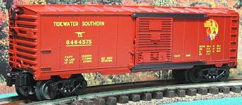 6-39225  Tidewater Southern Box Car