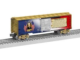 6-39340  THOMAS JEFFERSON BOXCAR