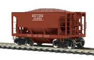 80-97040 - SOO Line 70-Ton Center Discharge Ore Car #81950