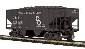 80-97086 - Chesapeake & Ohio USRA 55-Ton Steel Twin Hopper Car #300520