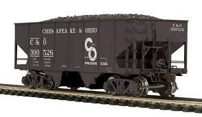 80-97088 - Chesapeake & Ohio USRA 55-Ton Steel Twin Hopper Car #300526