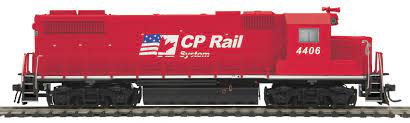 85-2059-1 - CP Rail GP38-2 Diesel With Proto-Sound 3.0 CAB #4406