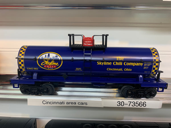 30-73566 - Skyline Chili Tank Car #002 - Dixie Union Station Exclusive