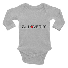Be Loverly Infant Onesie Long Sleeve Bodysuit