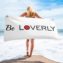 Be Loverly White Towel