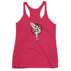 Red Beach Liv Women's Racerback Tank Top