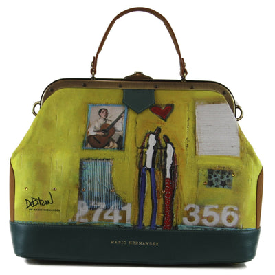 Beautiful DeBilzan Art inspired handbags, luggage, wallets and purses