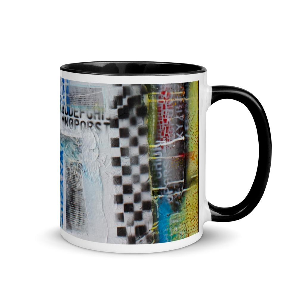 80's Mug with Color Inside