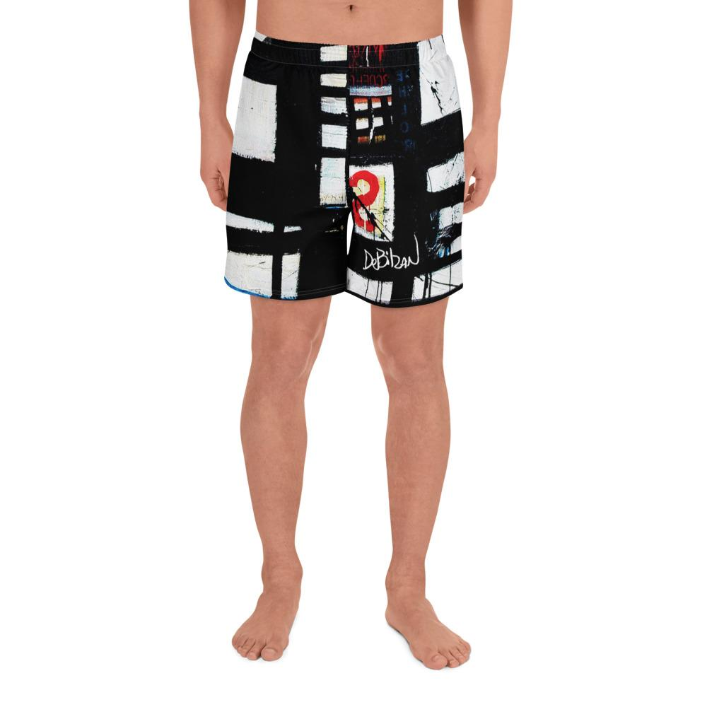 Abstract 8 Men's Athletic Long Shorts