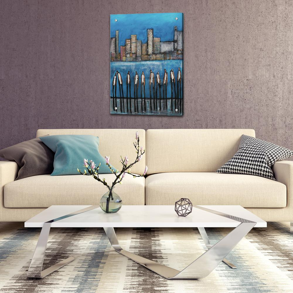 Skyline Part One  - Acrylic Print