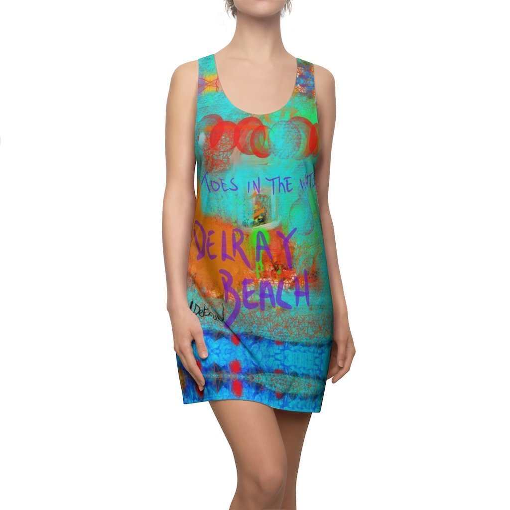 DeBilzan....Women's Cut & Sew Racerback Dress