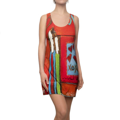 Women's Cut & Sew Racerback Dress - DeBilzan Gallery