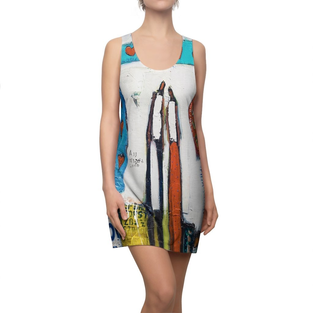 Timeless Love Women's Cut & Sew Racerback Dress