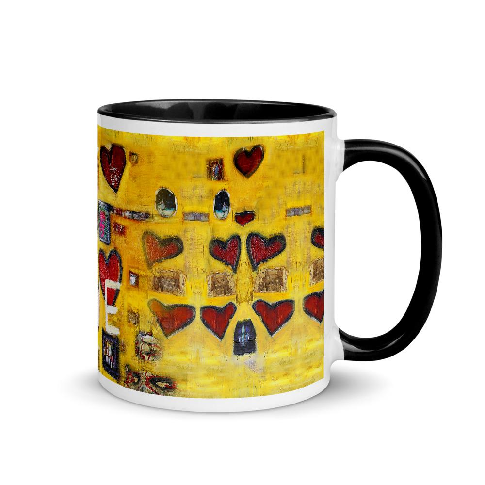 All You Need Is Love Mug with Color Inside