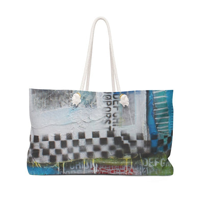 Bags Checkered Weekender Bag