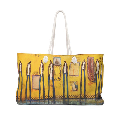 Bags East Yellow Weekender Bag