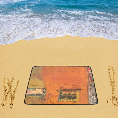 "Beach Mats writtenonthewall beach matt Beach Mats 78""x 60"""