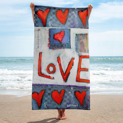Beach Towel All Love Towel