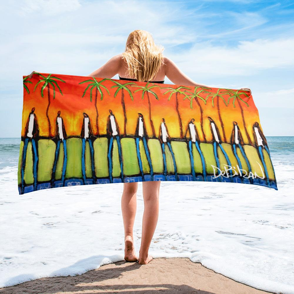 Beach Towel Back To The Island Beach Towel