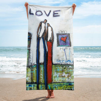 Beach Towel Butterflies Love Towel