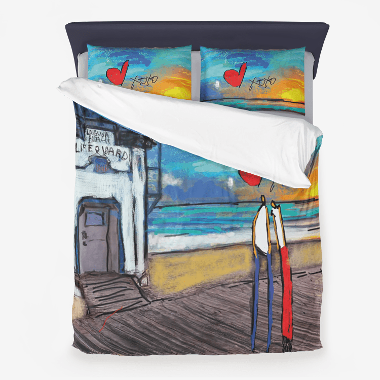 Your Lifeguard Microfiber Duvet Cover