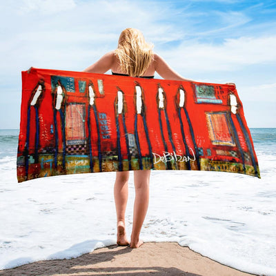Best Friends Forever Beach Towel