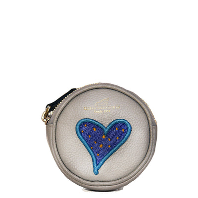 Blue Heart Coin Wallet