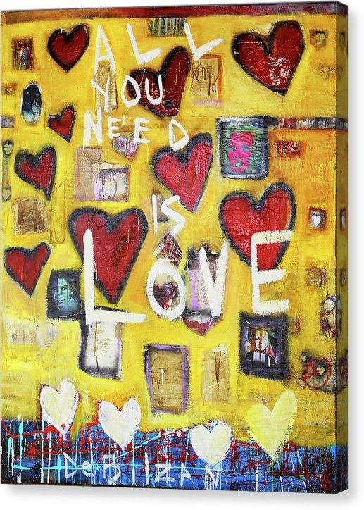 All You Need is Love New  - Canvas Print