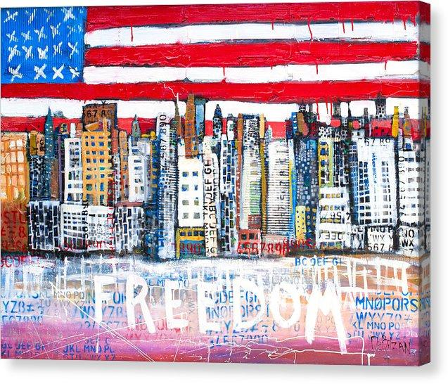 Freedom  - Canvas Print