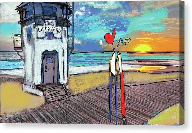 Canvas Print Lifeguard - Canvas Print