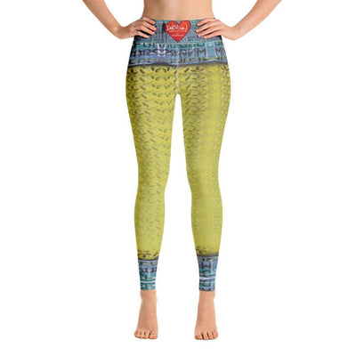 Debilzan Don't Stop the Love Yoga Leggings