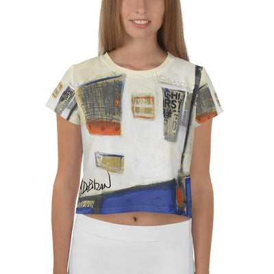 DeBilzan IGLF Windows to your Soul Crop Tee