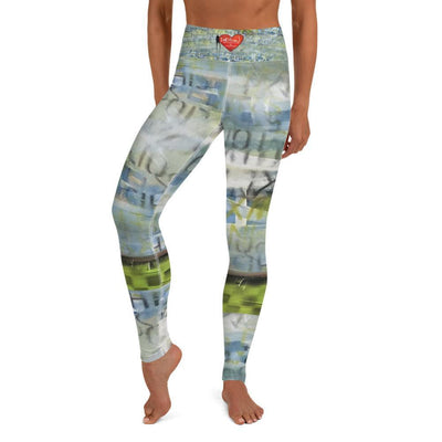 DeBilzan IGYF Sunset on the Island Yoga Leggings