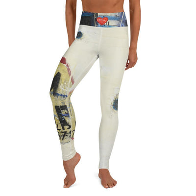 DeBilzan IGYF Texas Landscape Yoga Leggings