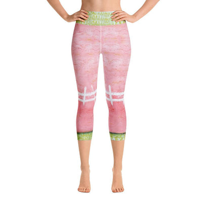 DeBilzan So In Love Yoga Capri Leggings