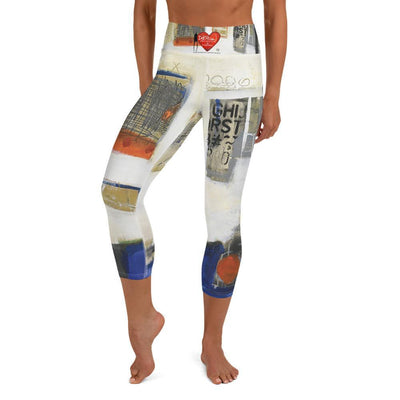 DeBilzan Windows to the Soul IGYF Yoga Capri Leggings