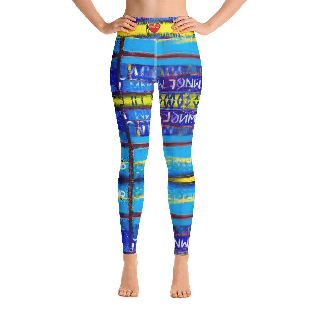 DeBilzan Yellow Mellow Yoga Leggings