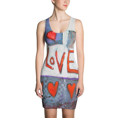 Warm Love Once Piece Dress - DeBilzan Gallery