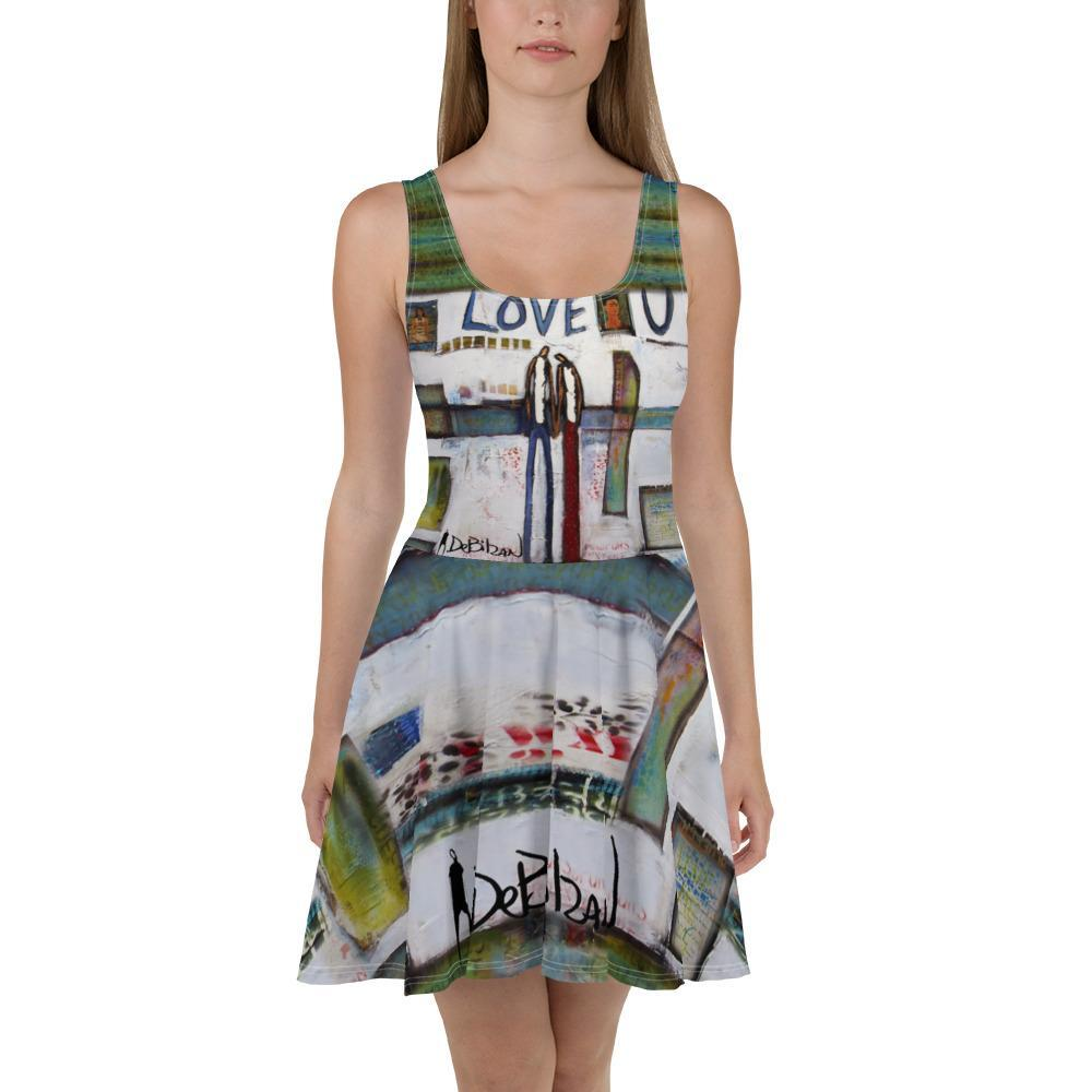 Love U Babe Skater Dress - DeBilzan Gallery