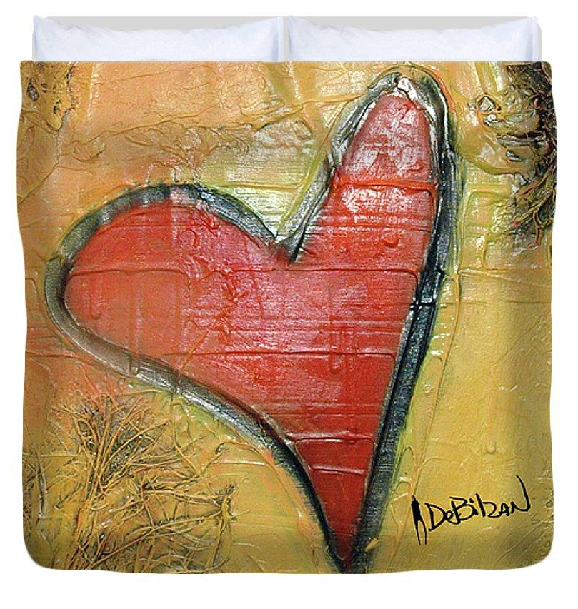 Heart  - Duvet Cover