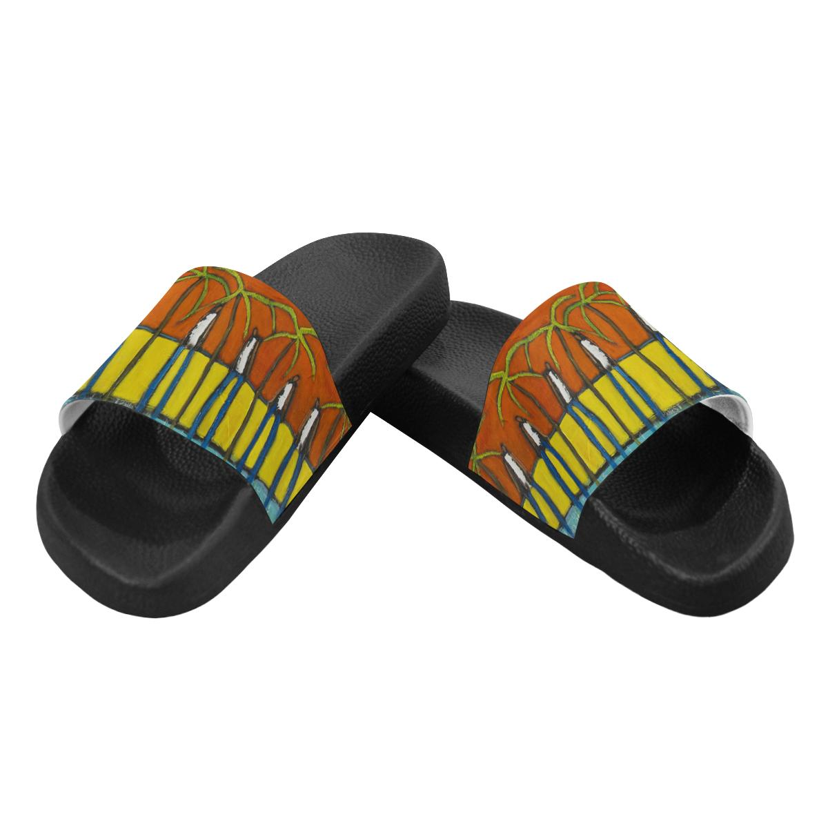 Flip Flops A Day In Paradise Men's Slide Sandals