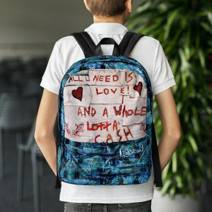 handbag All You need is Love Backpack
