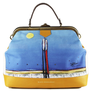 handbag Blue Satchel Purse